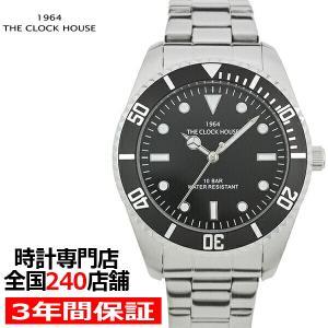 ザ・クロックハウス MBC5002-BK1A ビジネスカジュアル メンズ 腕時計 クオーツ ステンレス ブラック リーズナブル THE CLOCK HOUSE|theclockhouse-y