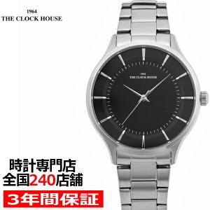 ザ・クロックハウス MBF5001-BK1A ビジネスフォーマル メンズ 腕時計 クオーツ ステンレス ブラック THE CLOCK HOUSE|theclockhouse-y