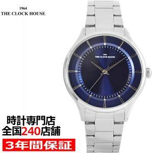 ザ・クロックハウス MBF5001-NV1A ビジネスフォーマル メンズ 腕時計 クオーツ ステンレス ネイビー THE CLOCK HOUSE|theclockhouse-y