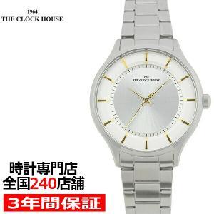 ザ・クロックハウス MBF5001-WH1A ビジネスフォーマル メンズ 腕時計 クオーツ ステンレス ホワイト THE CLOCK HOUSE|theclockhouse-y