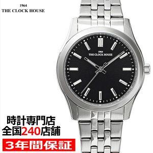 ザ・クロックハウス MBF5002-BK1A ビジネスフォーマル メンズ 腕時計 クオーツ ステンレス ブラック リーズナブル THE CLOCK HOUSE|theclockhouse-y