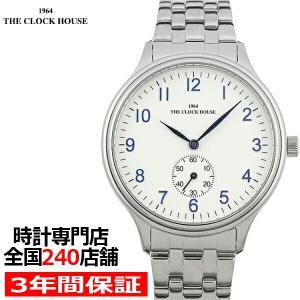 ザ・クロックハウス MBF5004-SI1A ビジネスフォーマル メンズ 腕時計 クオーツ ステンレス ホワイト リーズナブル THE CLOCK HOUSE|theclockhouse-y