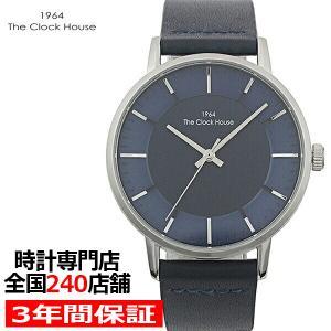 ザ・クロックハウス MCA5002-NV1B メンズカジュアル メンズ 腕時計 クオーツ 紺レザー ネイビー リーズナブル THE CLOCK HOUSE|theclockhouse-y