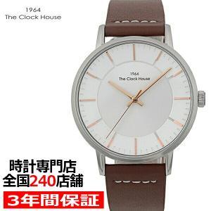 ザ・クロックハウス MCA5002-WH1B メンズカジュアル メンズ 腕時計 クオーツ 茶レザー ホワイト リーズナブル THE CLOCK HOUSE|theclockhouse-y