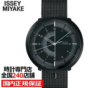 イッセイミヤケ ワンシックス メンズ 腕時計 メカニカル 自動巻き メッシュ ブラック 1/6 NYAK001|theclockhouse-y