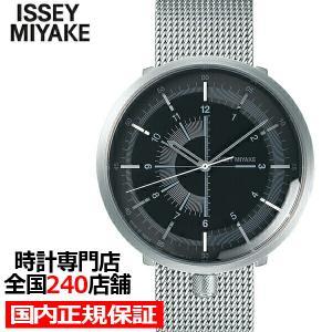イッセイミヤケ ワンシックス メンズ 腕時計 メカニカル 自動巻き メッシュ ブラック 1/6 NYAK002|theclockhouse-y