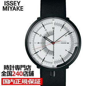 イッセイミヤケ ワンシックス メンズ 腕時計 メカニカル 自動巻き 革ベルト ホワイト 1/6 NYAK003|theclockhouse-y