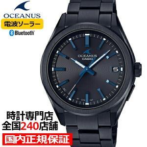オシアナス 3針モデル ブラック OCW-T200SB-1AJF メンズ 腕時計 電波 ソーラー Bluetooth カシオ theclockhouse-y