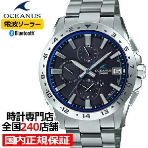 オシアナス クラシックライン OCW-T3000-1AJF メンズ 腕時計 電波 ソーラー チタン Bluetooth ブラック 国内正規品 カシオ theclockhouse-y