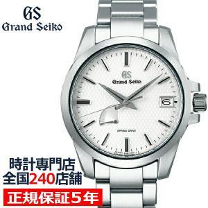 グランドセイコー スプリングドライブ 9R メンズ 腕時計 SBGA225 ホワイト カレンダー パワーリザーブ theclockhouse-y