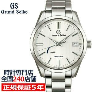グランドセイコー スプリングドライブ 9R メンズ 腕時計 SBGA347 メタルベルト ブライトチタン 軽量 theclockhouse-y