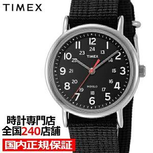 タイメックス ウィークエンダー セントラルパーク T2N647 メンズ 腕時計 クオーツ ナイロン ブラック|theclockhouse-y