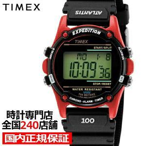 TIMEX タイメックス ATLANTIS アトランティス ヌプシ TW2U91500 メンズ 腕時計 クオーツ 電池式 レジン レッド|theclockhouse-y