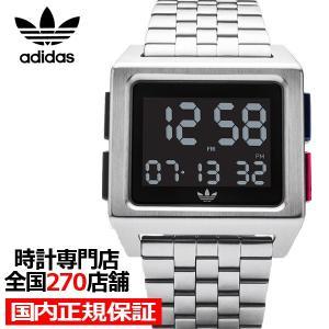 adidas アディダス ARCHIVE_M1 Z01-2924-00 メンズ レディース 腕時計 デジタル メタル シルバー 国内正規品 男女兼用|theclockhouse-y