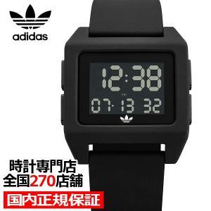adidas アディダス ARCHIVE_SP1 Z15-001-00 メンズ レディース 腕時計 デジタル シリコン ブラック 国内正規品 男女兼用|theclockhouse-y