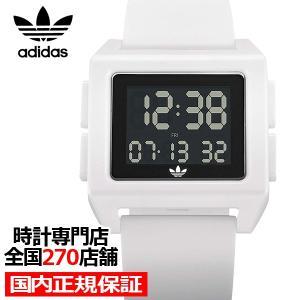 adidas アディダス ARCHIVE_SP1 Z15-100-00 メンズ レディース 腕時計 デジタル シリコン ホワイト 国内正規品 男女兼用|theclockhouse-y