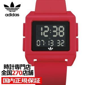 adidas アディダス ARCHIVE_SP1 Z15-203-00 メンズ レディース 腕時計 デジタル シリコン レッド 国内正規品 男女兼用|theclockhouse-y