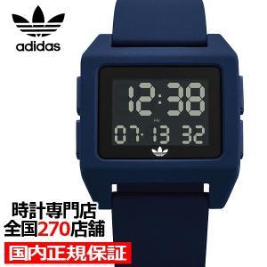 adidas アディダス ARCHIVE_SP1 Z15-3203-00 メンズ レディース 腕時計 デジタル シリコン ネイビー 国内正規品 男女兼用|theclockhouse-y
