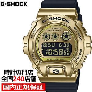 2月14日発売 G-SHOCK ジーショック メタルベゼル ゴールド GM-6900G-9JF メン...