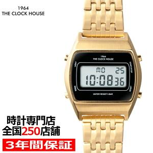 ザ・クロックハウス タウンカジュアル 限定モデル メタル デジタル ユニセックス 腕時計 トノー ブ...