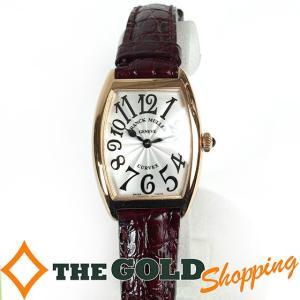 フランクミューラー / FRANCK MULLER : トノーカーベックス 1752QZ 5N 時計 腕時計 レディース[女性用] 中古 【中古】|thegoldshopping