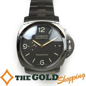パネライ / PANERAI : ルミノール マリーナ 1950 3DAYs スリーデイズ 44mm 自動巻 チタン PAM00352 時計 腕時計 メンズ[男性用] 中古 thegoldshopping