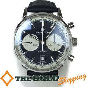 ハミルトン / HAMILTON : イントラマティック68 クロノグラフ 自動巻 60hパワーリザーブ/世界限定1968本 H387160 時計 腕時計 メンズ[男性用] 中古|thegoldshopping