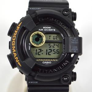 カシオ / CASIO: Gショック フロッグマン チタニウム ダイバーズウォッチ DW-8200 時計 腕時計 ボーイズ[男女兼用](中古) thegoldshopping