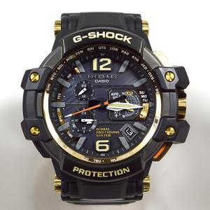 カシオ / CASIO: G-SHOCK グラヴィティマスター GPS ハイブリット電波ソーラー G-SHOCK GPW-1000GB-1AJF 時計 腕時計 メンズ[男性用](中古) thegoldshopping