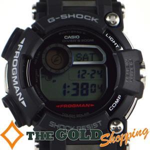 カシオ / CASIO : G-SHOCK Gショック タフソーラー フロッグマン GWF-D1000-1JF 時計 腕時計 メンズ[男性用] 中古 thegoldshopping