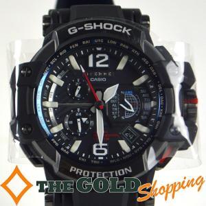 カシオ / CASIO : G-SHOCK スカイコックピット GPS ハイブリッド 電波タフソーラー GPW1000-1A 時計 腕時計 メンズ[男性用] 中古 thegoldshopping