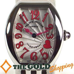 フランクミューラー / FRANCK MULLER : ハートトゥハート キャトル 5002SQZ メーカーOH済 5002SQZ 時計 腕時計 レディース[女性用] 中古 【中古】|thegoldshopping