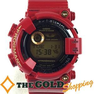 カシオ / CASIO : G-SHOCK フロッグマン 30thアニバーサリー ライジングレッド GF-8230A-4JR 時計 腕時計 メンズ[男性用] 中古 thegoldshopping