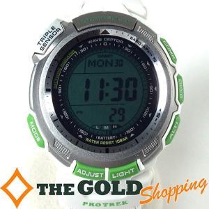 カシオ / CASIO : プロトレック タフソーラー WWF PRW-1300WFJ 時計 腕時計 メンズ[男性用] 中古 thegoldshopping