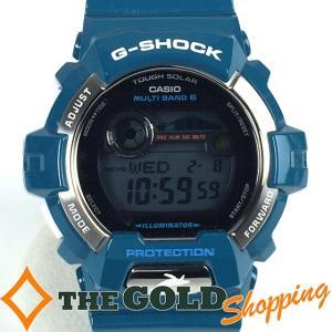 カシオ / CASIO : G-SHOCK イルカ クジラ 30th アニバーサリー GWX-8900 時計 腕時計 メンズ[男性用] 中古 thegoldshopping