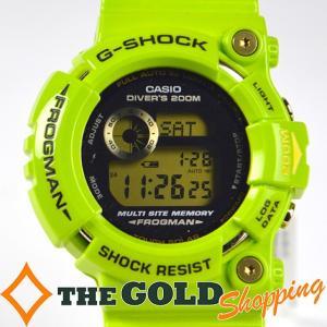 カシオ / CASIO : G-SHOCK Gショック タフソーラー FROGMAN フロッグマン GW-200F 時計 腕時計 メンズ[男性用] 中古 thegoldshopping