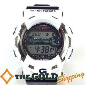 カシオ / CASIO : G-SHOCK ガルフマン イルカ クジラ GW-9110K-7JR 時計 腕時計 メンズ[男性用] 中古 thegoldshopping