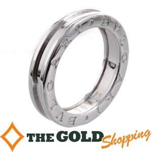 BVLGARI ブルガリ B-zero1 1バンドリング #54 ホワイトゴールド 750WG K18 ビーゼロワン ジュエリー・アクセサリー 指輪|thegoldshopping