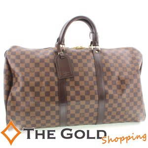 LOUIS VUITTON ルイヴィトン キーポル50 ダミエ 旅行バッグ N41427 バッグ ボストンバッグ thegoldshopping