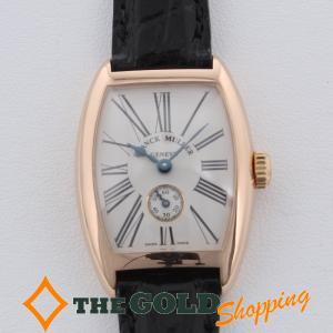 フランクミュラー / FRANCK MULLER : クロノメトロ シルバー文字盤 1752S6 時計 腕時計 レディース[女性用] 中古|thegoldshopping