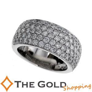 カルティエ パヴェ ダイヤ リング #49 メーカー仕上済 750WG ホワイトゴールド B42062749 Cartier [ジュエリー アクセサリー 指輪]【中古】|thegoldshopping