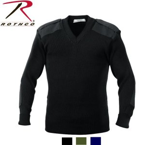 ROTHCO G.I..STYLE V-NECK SWEATERS(ロスコ Vネック コマンド セーター)6345|thelargestselection