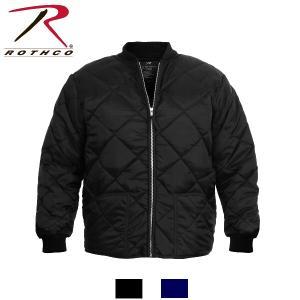 Rothco Diamond Quilted Flight Jackets(ロスコ ダイアモンドキルテッドフライトジャケット)7230他(2色)|thelargestselection
