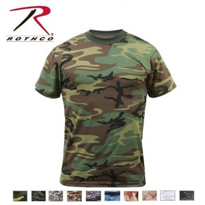 Rothco Camo T-Shirts(ロスコ カモ Tシャツ)8777他(8色)|thelargestselection