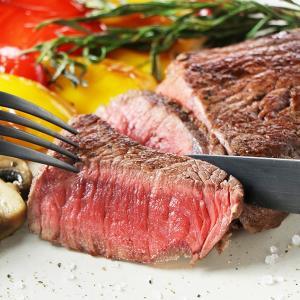 グラスフェッドビーフ 厚切りランプステーキ(牛もも肉) 約2...