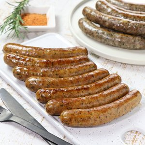 生ラムスパイシーソーセージ 7本 メルゲーズ 無添加 砂糖不使用 100%ラム肉 羊肉 手作り|themeatguy