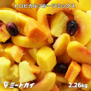 (送料無料)冷凍トロピカルフルーツミックス 5種入り*冷凍フルーツ*たっぷり2.26kg入り・業務用サイズ*フルーツポンチやサングリア