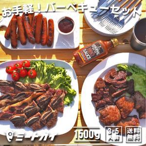(送料無料)お手軽!バーベキューセット! 約1.5kg お得さ福袋級!/ バーベキューセット バーベキュー 肉 塊肉 BBQ食材 アウトドア キャンプ BBQセット|themeatguy