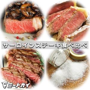 (送料無料)サーロインステーキ 食べ比べ セット 3種類6枚+海塩グロッソのおまけ付 / バーベキューセット バーベキュー BBQ|themeatguy