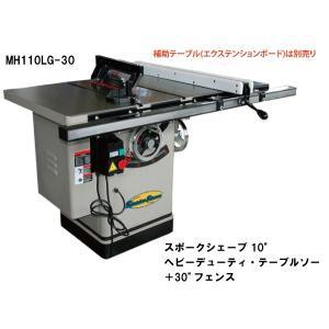 スポークシェーブ 10インチ(254mm)ヘビーデューティ・テーブルソー+30インチ(762mm)フェンス|themokkoukikai